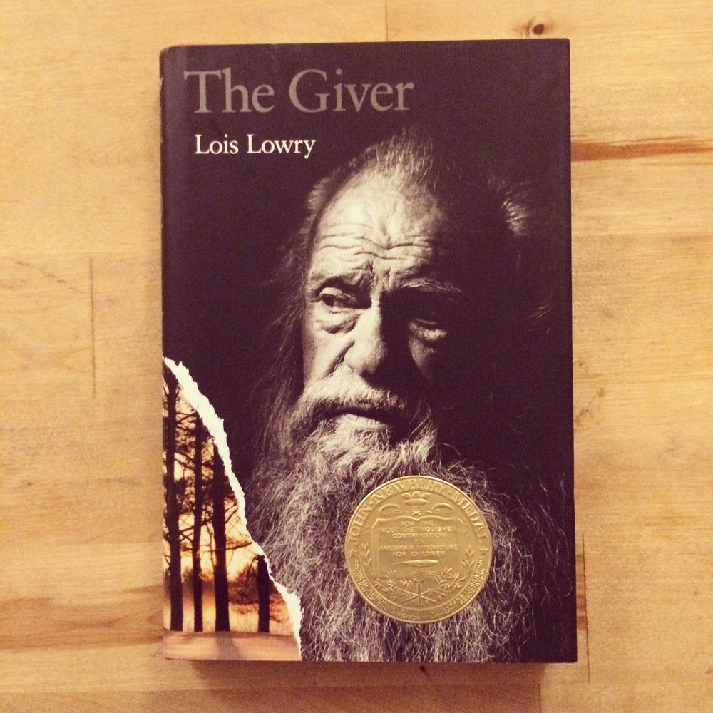 My signed copy of The Giver (thanks, Amber :)