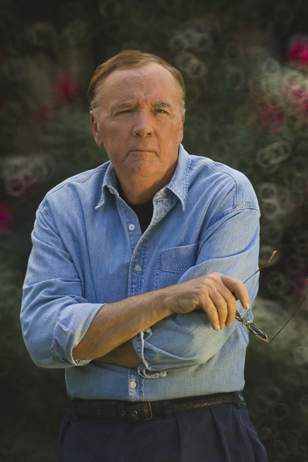 JAMES PATTERSON. Photo credit: David Burnett