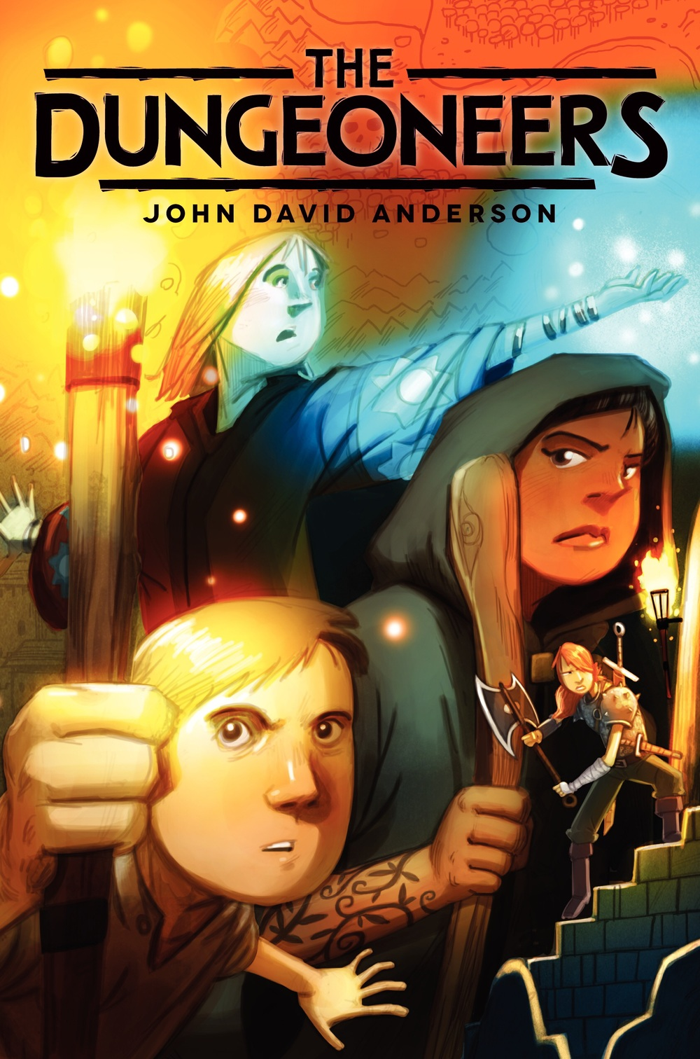 THE DUNGEONEERS by John David Anderson (June 23, 2015 from Walden Pond Press)