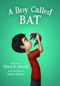A Boy Called Bat - With illustrations by Charles SantosoThis is the first an irresistible young middle grade series starring an unforgettable young boy on the autism spectrum. For Bixby Alexander Tam (nicknamed Bat), life tends to be full of surprises—some of them good, some not so good. Today, though, is a good-surprise day. Bat's mom, a veterinarian, has brought home a baby skunk, which she needs to take care of until she can hand him over to a wild-animal shelter.But the minute Bat meets the kit, he knows they belong together. And he's got one month to show his mom that a baby skunk might just make a pretty terrific pet.
