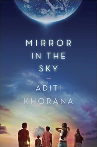 Mirror in the Sky - For Tara Krishnan, navigating Brierly, the academically rigorous prep school she attends on scholarship, feels overwhelming and impossible. Her junior year begins in the wake of a startling discovery: A message from an alternate Earth, light years away, is intercepted by NASA. This means that on another planet, there is another version of Tara, a Tara who could be living better, burning brighter, because of tiny differences in her choices. As the world lights up with the knowledge of Terra Nova, the mirror planet, Tara's life on Earth begins to change. At first, small shifts happen, like attention from Nick Osterman, the most popular guy at Brierly, and her mother playing hooky from work to watch the news all day. But eventually those small shifts swell, the discovery of Terra Nova like a black hole, bending all the light around it. As a new era of scientific history dawns and Tara's life at Brierly continues its orbit, only one thing is clear: Nothing on Earth--and for Tara--will ever be the same again. (2016, Razobill)