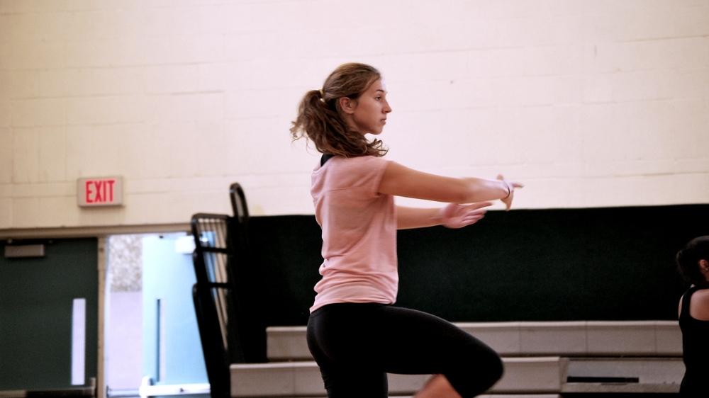 Dancer Melissa Hedwall!