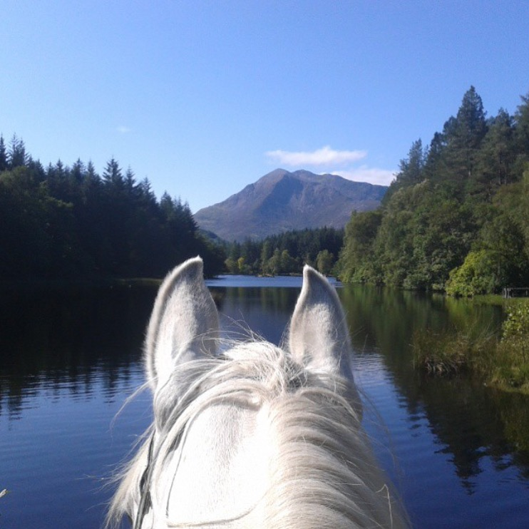 Thanks for kicking off Monday with *this view from Glencoe Lochen 🔷 @fantasisky 🔷.  ........ Tag your photo #lifebetweentheears for a chance to be featured. Ride On!  ....... #betweentheears #equestriantravel #equinephotography #equestrianlife #scottishhighlands #glencoe #thankyou #karinrodgers