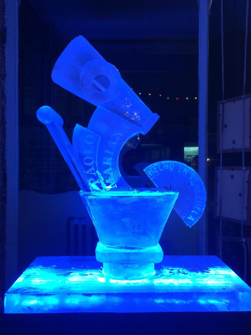 Bespoke Wedding Ice Sculpture