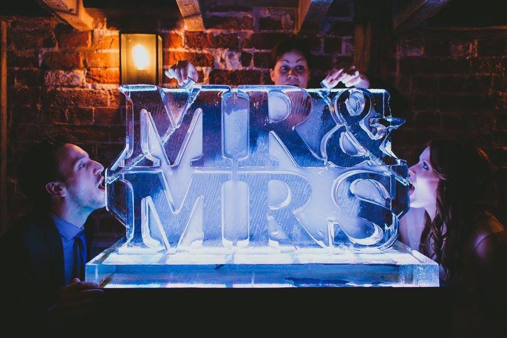 Mr & Mrs Double Vodka Luge