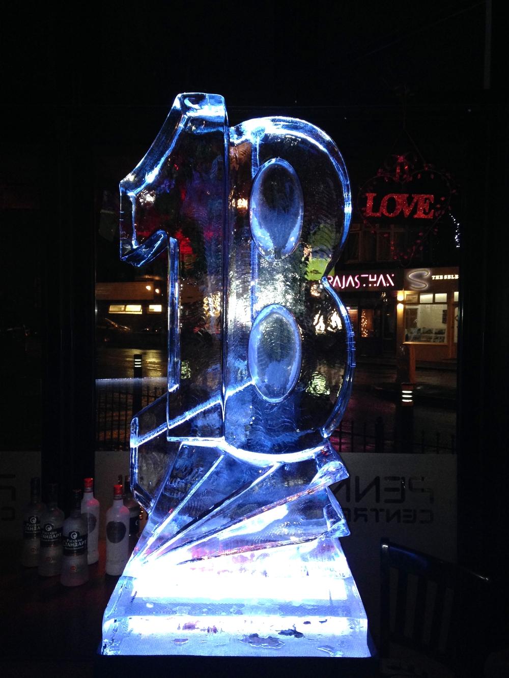 18 Numbers Vodka Luge