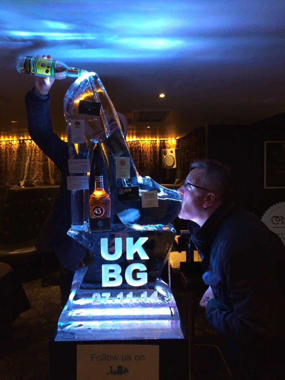 Stilleto Vodka Luge - UKBG - Bar So