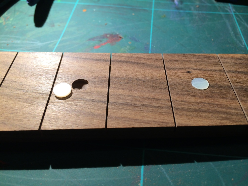 Pearl fret markers