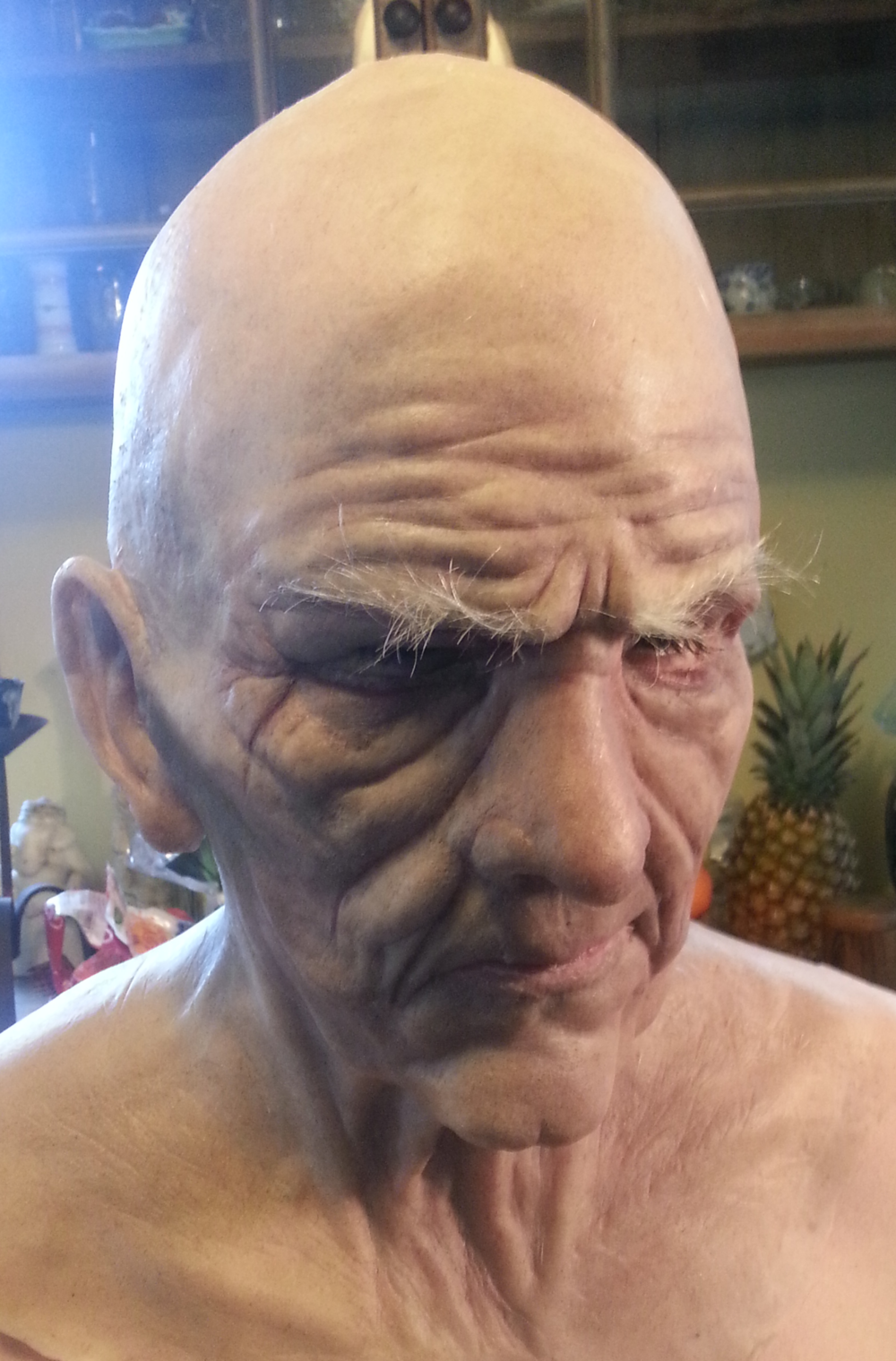 Full Head Silicone Prosthetic (2013)