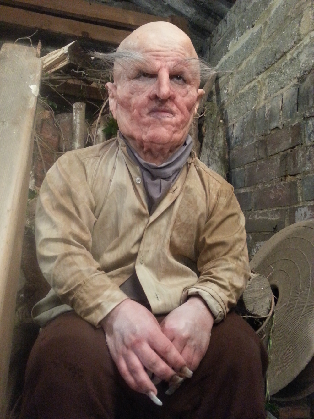 'Fengis' - Full head prosthetic for short film 'The Last Rose' (2013)