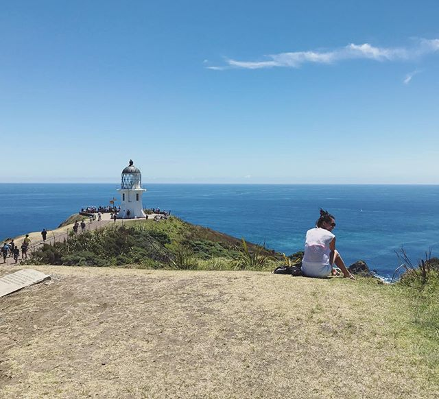 Beautiful day for #capereinga 🌞  #farnorth #newzealand #summer #lonelyplanet