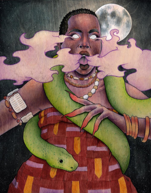 """""""Witch Mawu"""" 2016"""