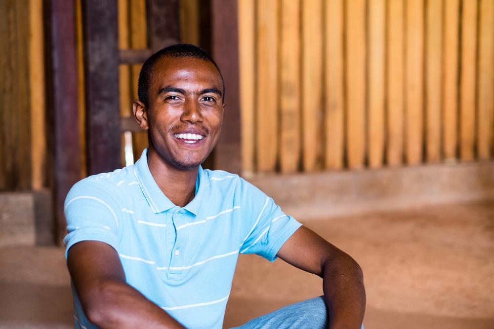 Faly, my guide around Antananarivo