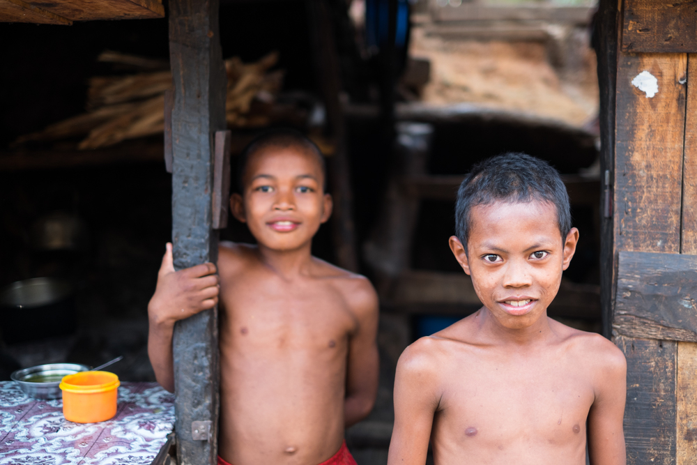 Two brothers in Miandrivazo. If Thailand hadn't already taken the moniker, I'd call Madagascar the land of smiles.