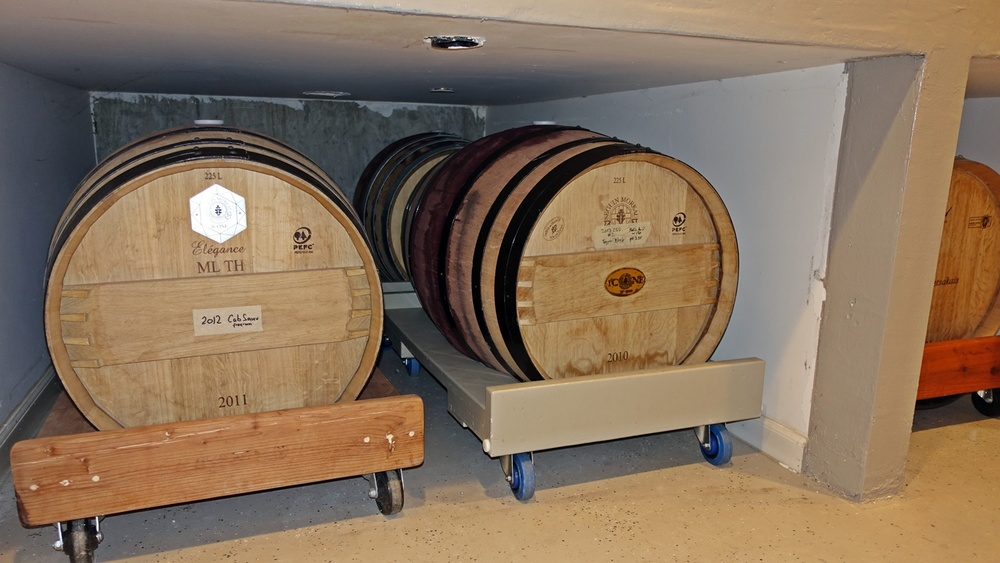 3 Set aside room for barrels