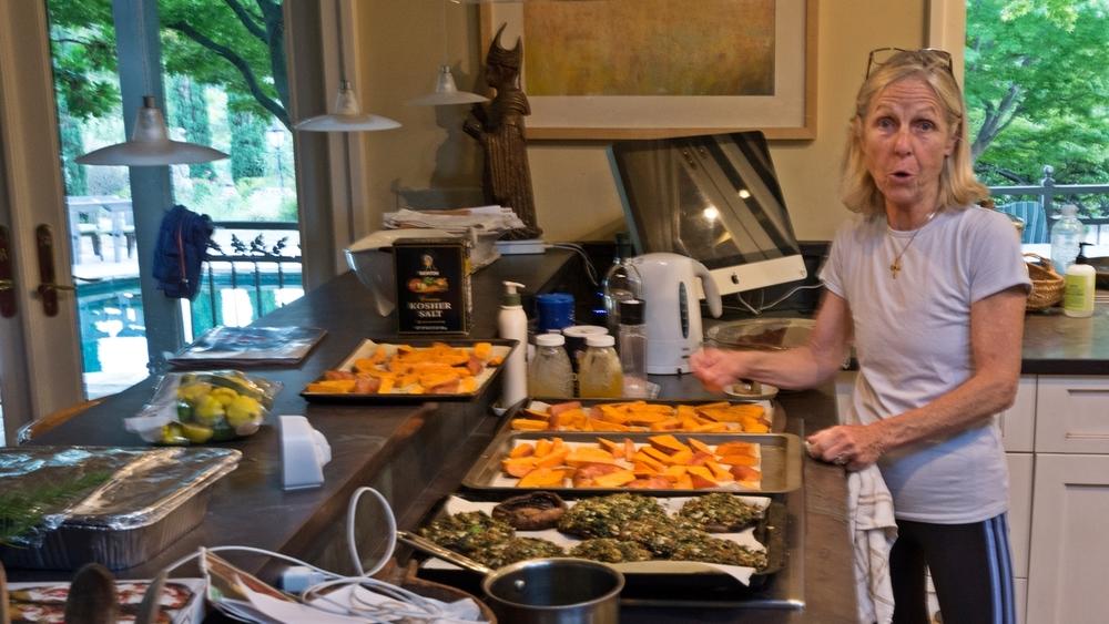 Dinner preparation - Rosemary
