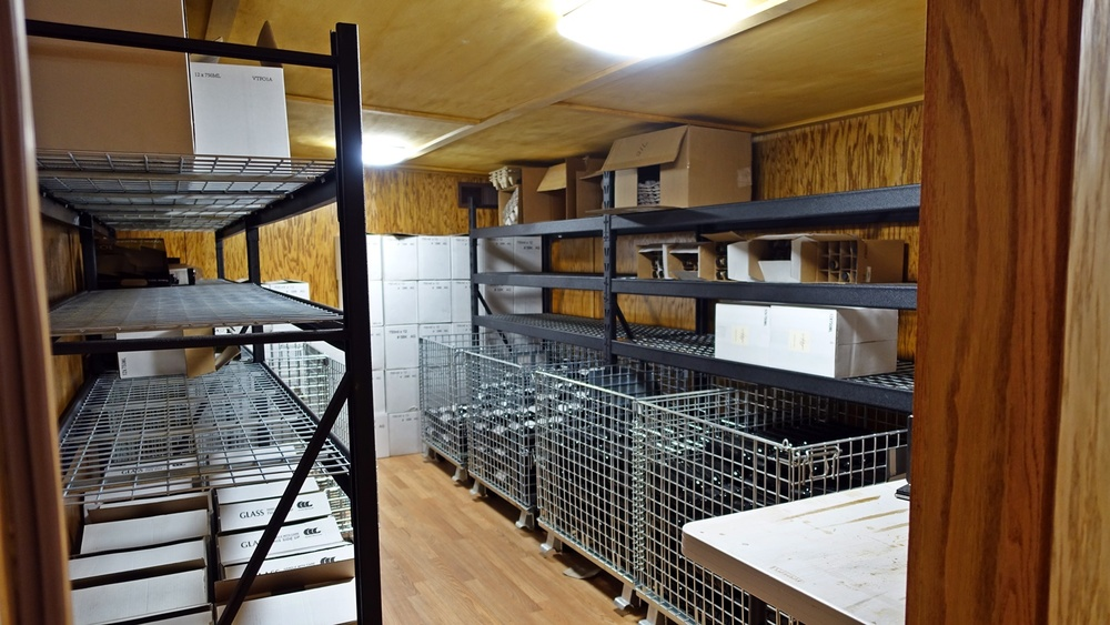 Bottle Storage Room in barn.JPG