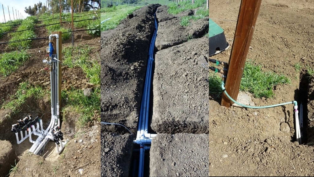 12. Irrigation controls and piping