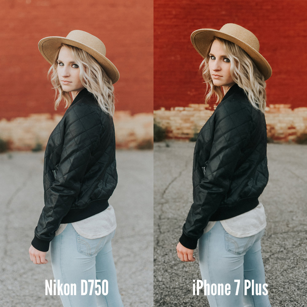 Iphone 7 plus vs full frame dslr ethan painter photography films when you look at them side by side you can see there are some pretty significant benefits to shooting with a full frame dslr but the iphone photos still jeuxipadfo Images