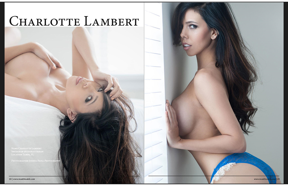 Charlotte Lambert | Model Modele Feature