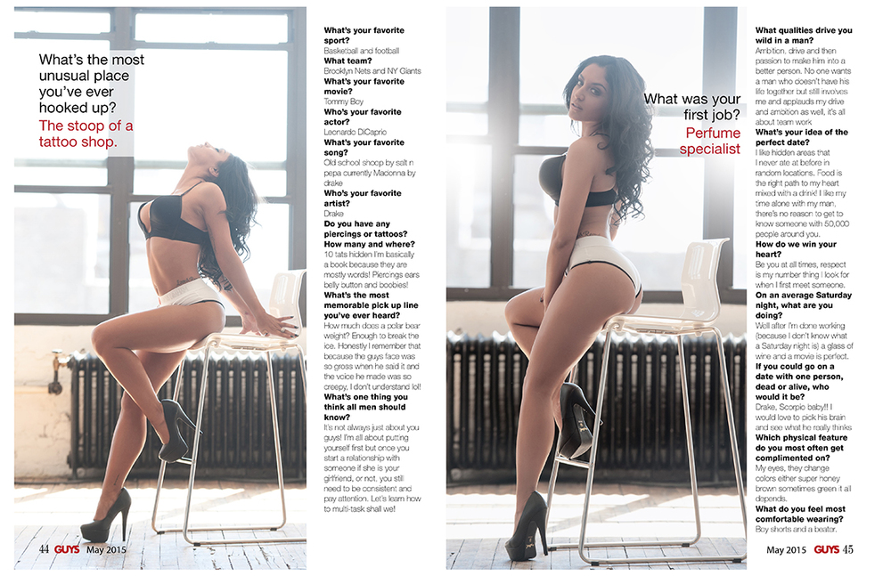 Gi Valentine | For Guys Magazine Feature