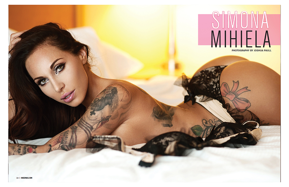 Simona Mihiela | Inked Girls Magazine Feature