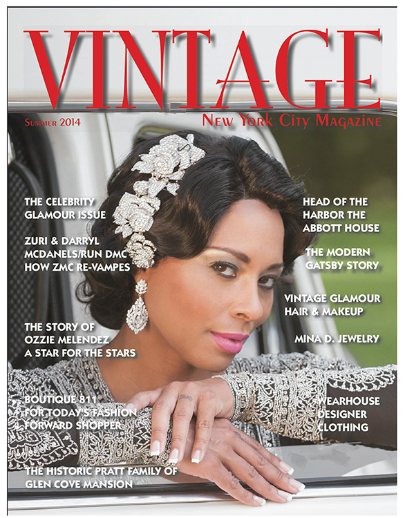 Zuri McDaniels | Vintage Magazine Cover & Feature