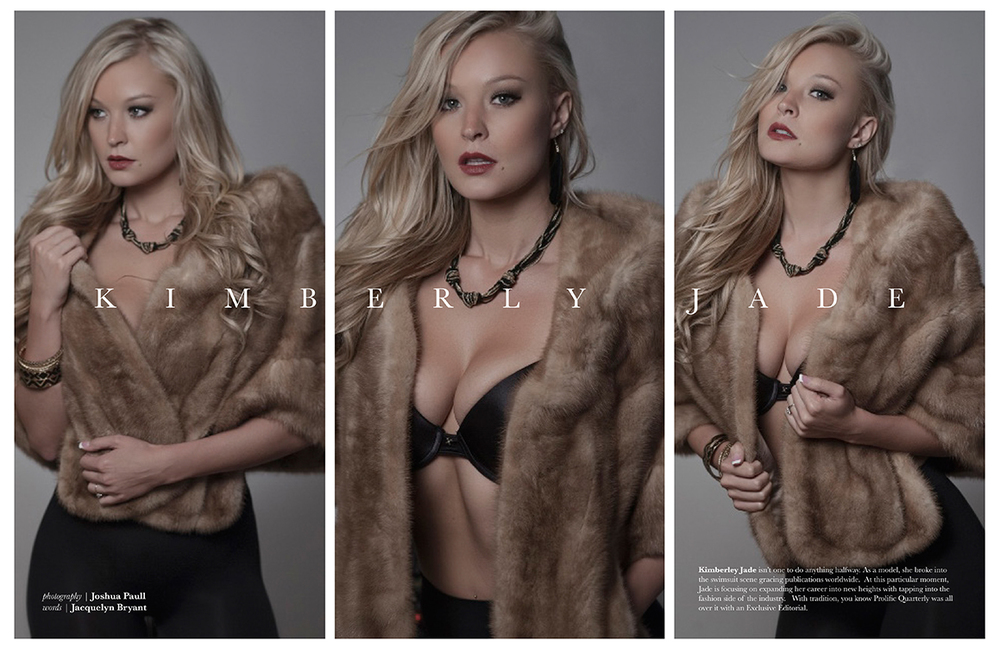 Kimberley Jade | Prolific Quarterly Feature