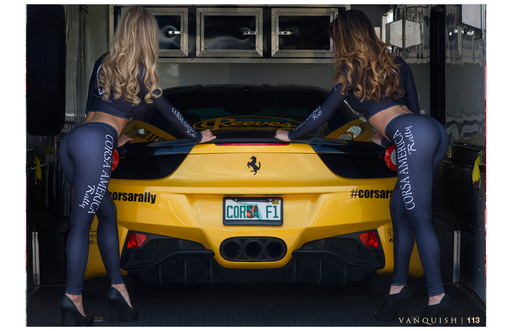 Vanquish Automotive - Corsa Feature- Brittany and Kim