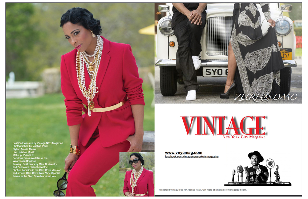 Zuri McDaniels - Vintage NYC Cover and Feature