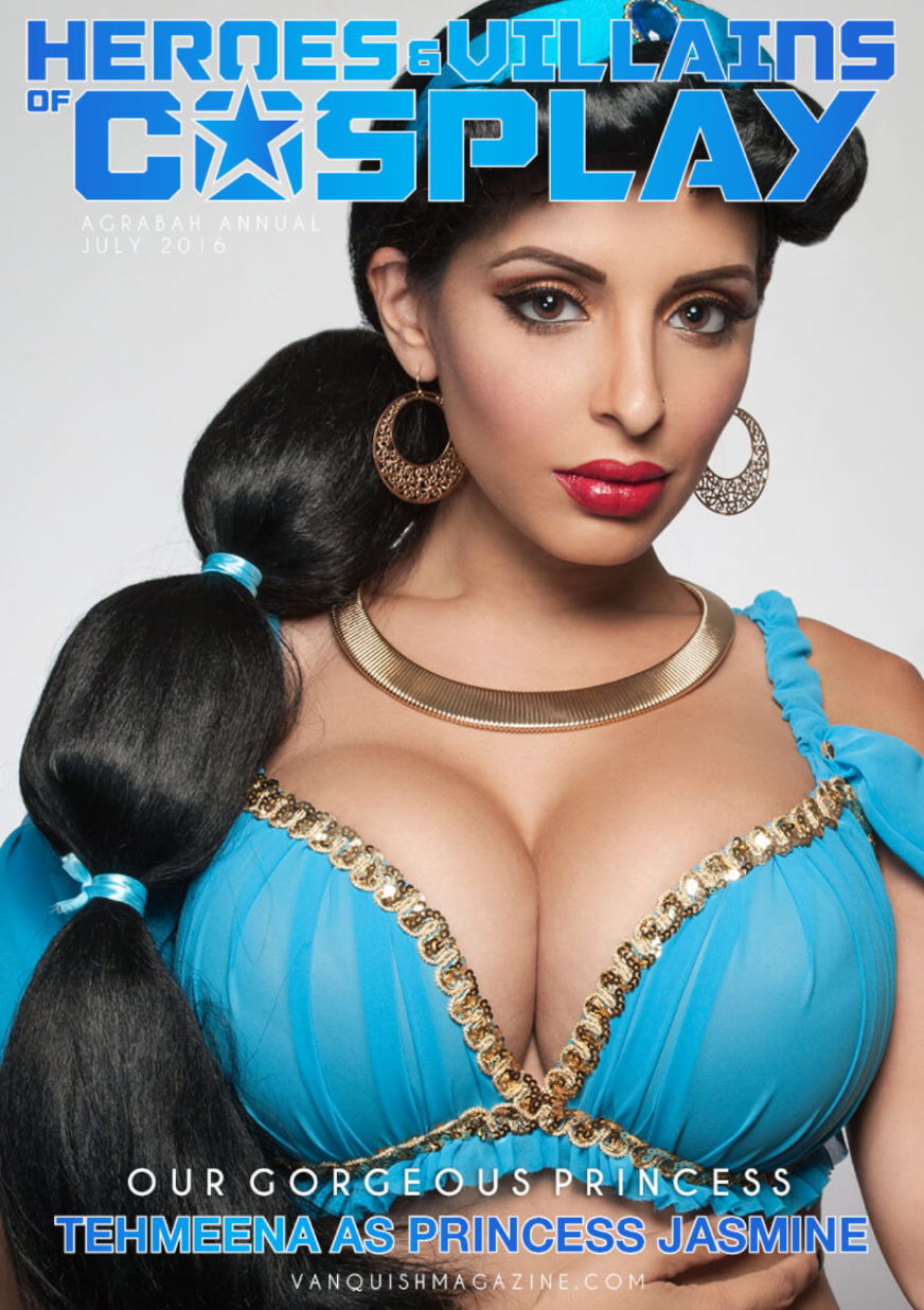 Tehmeena Afzal - HAVOC Cover and Feature