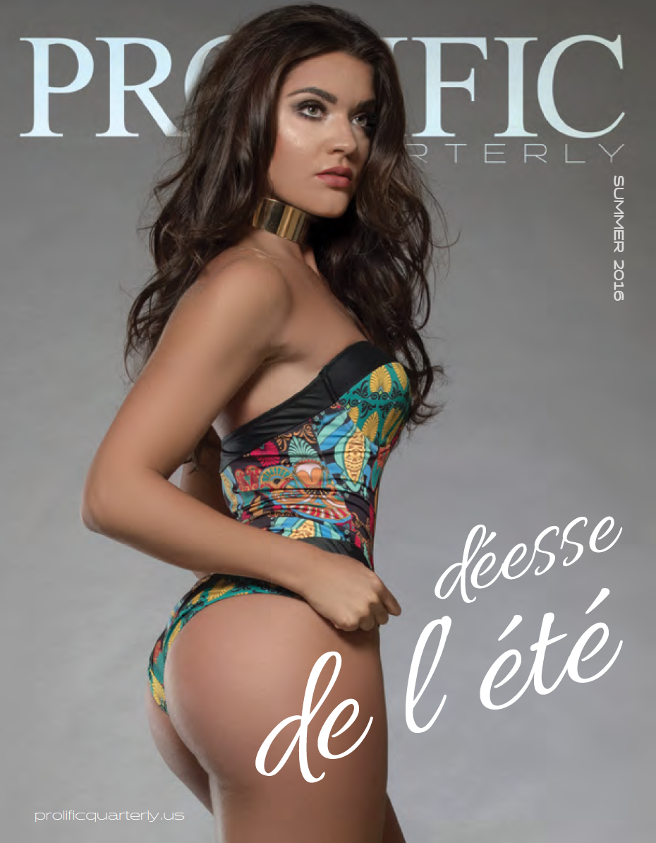 Ellie D. - Prolific Quarterly - Cover and Feature