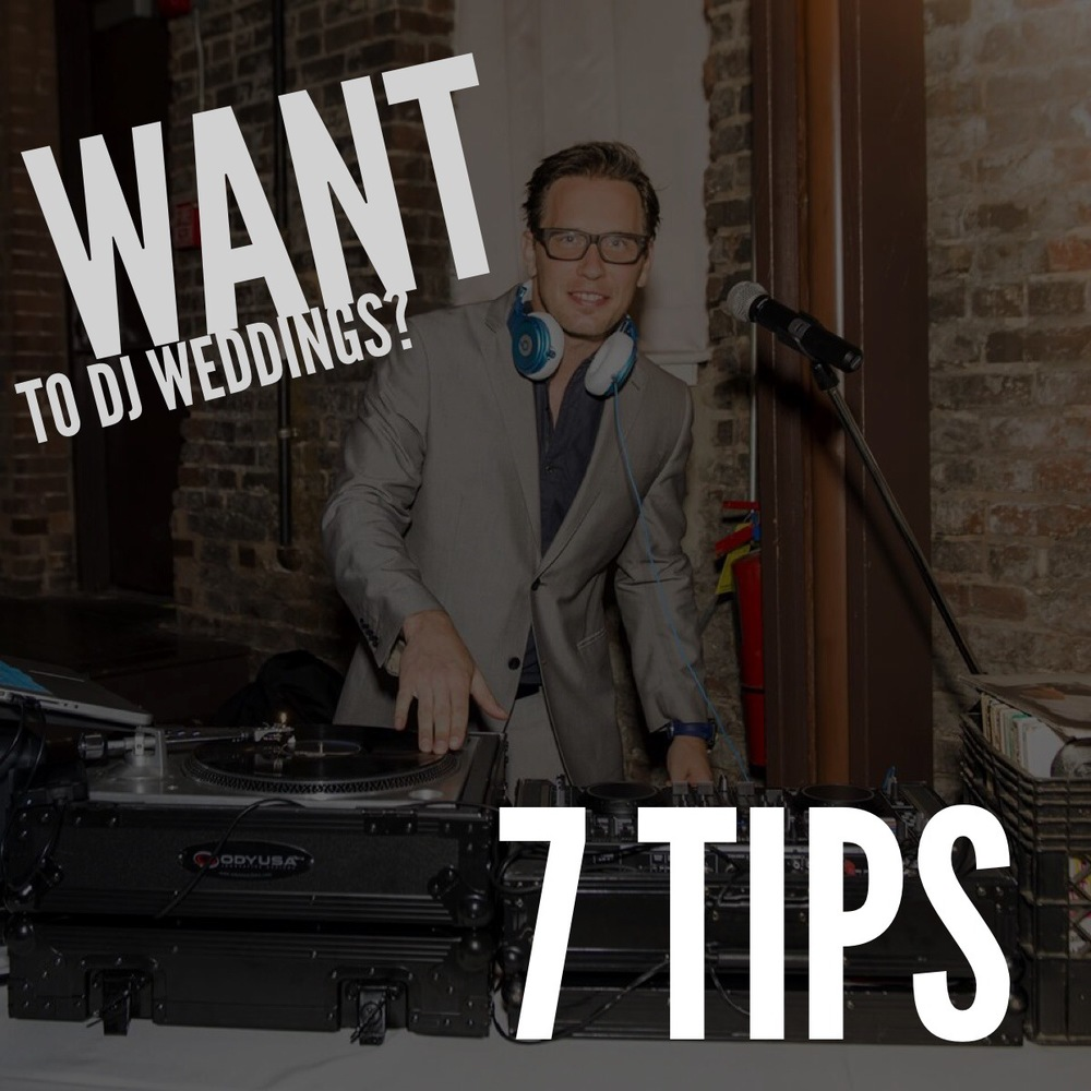 Thinking about DJ'ing?  Here are a few things you must know...