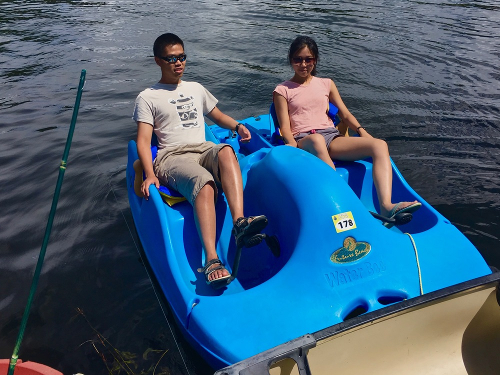 Blue in the City: Pedalo
