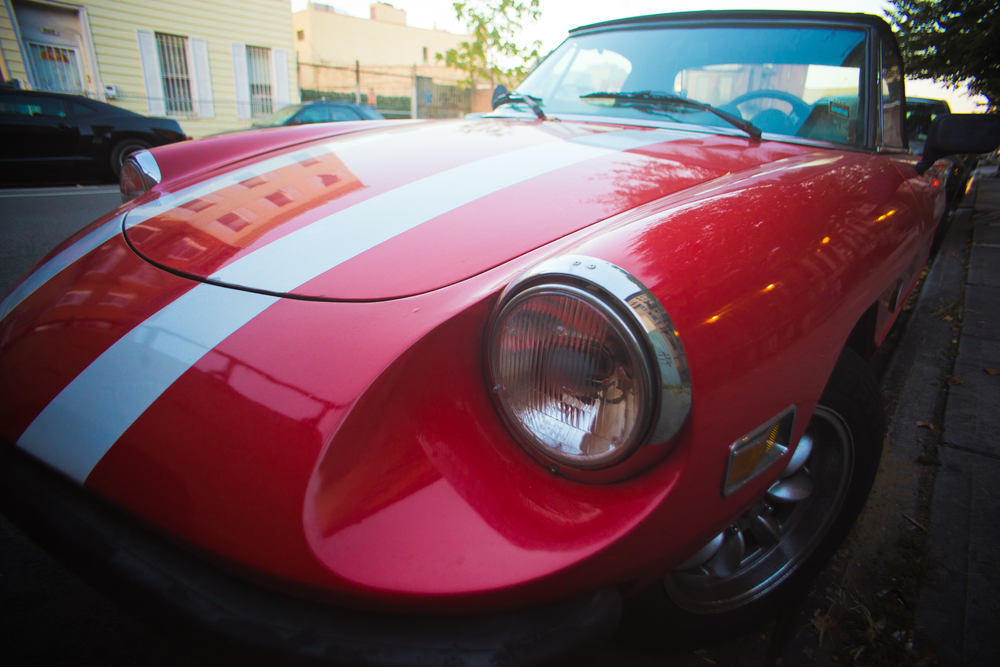 Alfa Romeo Spider on Bergen Street / 2013