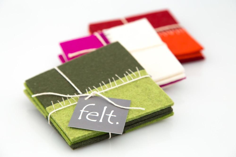 "Coasters by ""felt"""