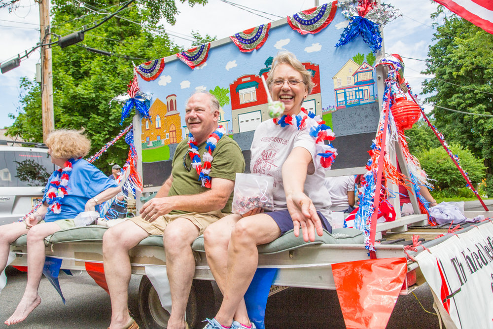 Fourth of July Parade, Alplaus, NY 2014