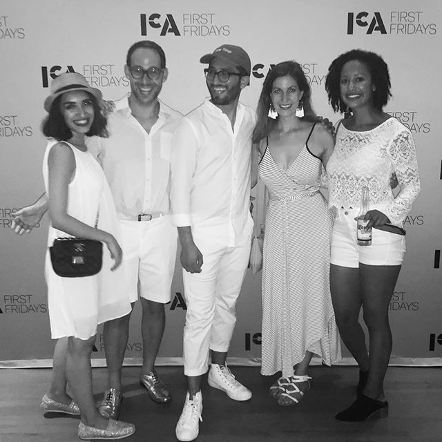 institute of contemporary art / boston -#whiteparty #summer #boston #doingthings