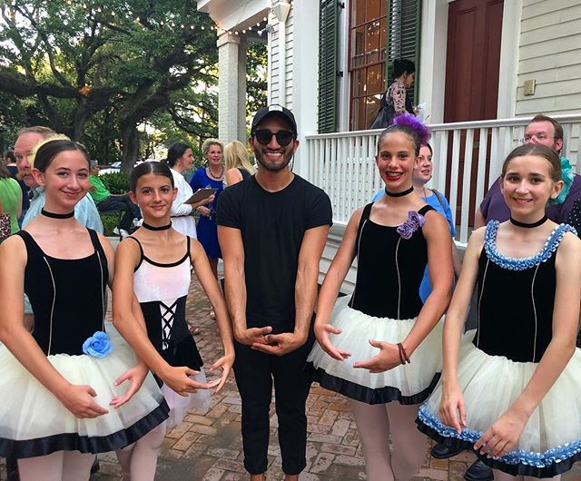 Kicking off Bastille Day Weekend at the home of Edgar Degas in WHO DAT Nation. New Orleans I love you ⚜️🇫🇷👯♀️ #nola #bastilleday