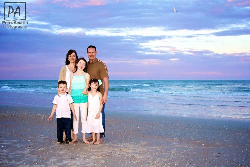 Family Portrait Photography in New Smyrna Beach
