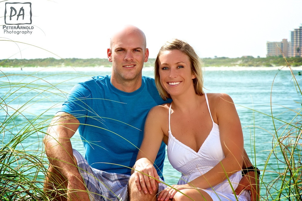 Couple portrait photo in Ponce Inlet FL