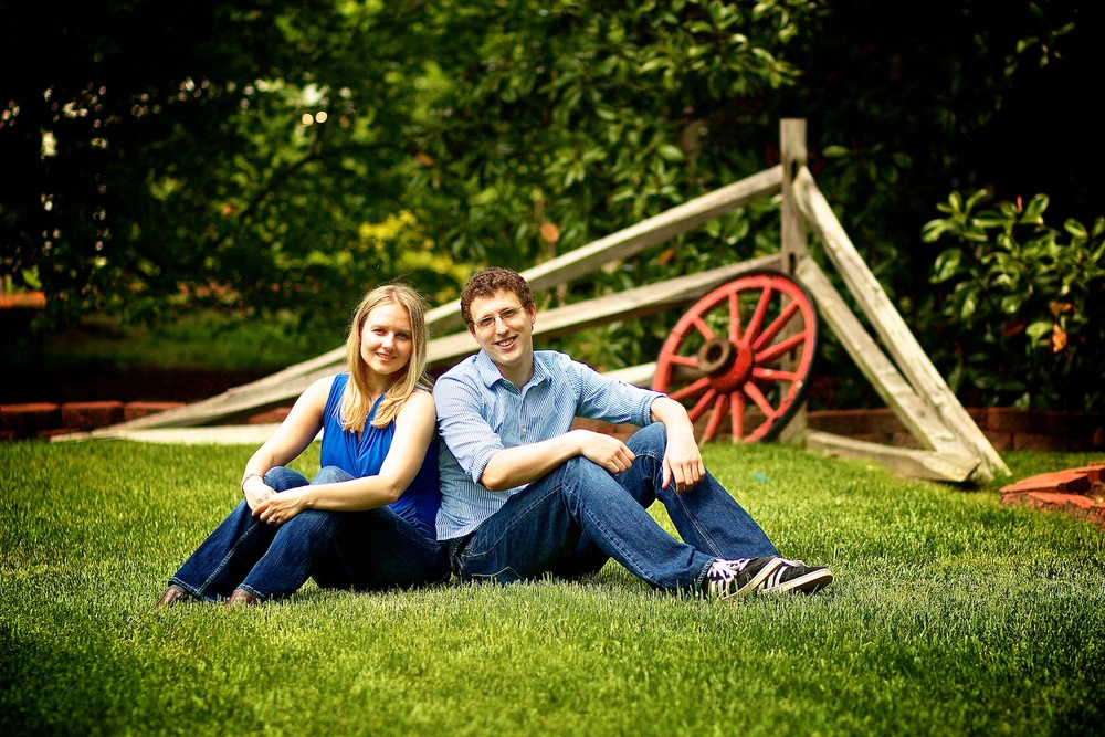 Engagement Couple Portrait