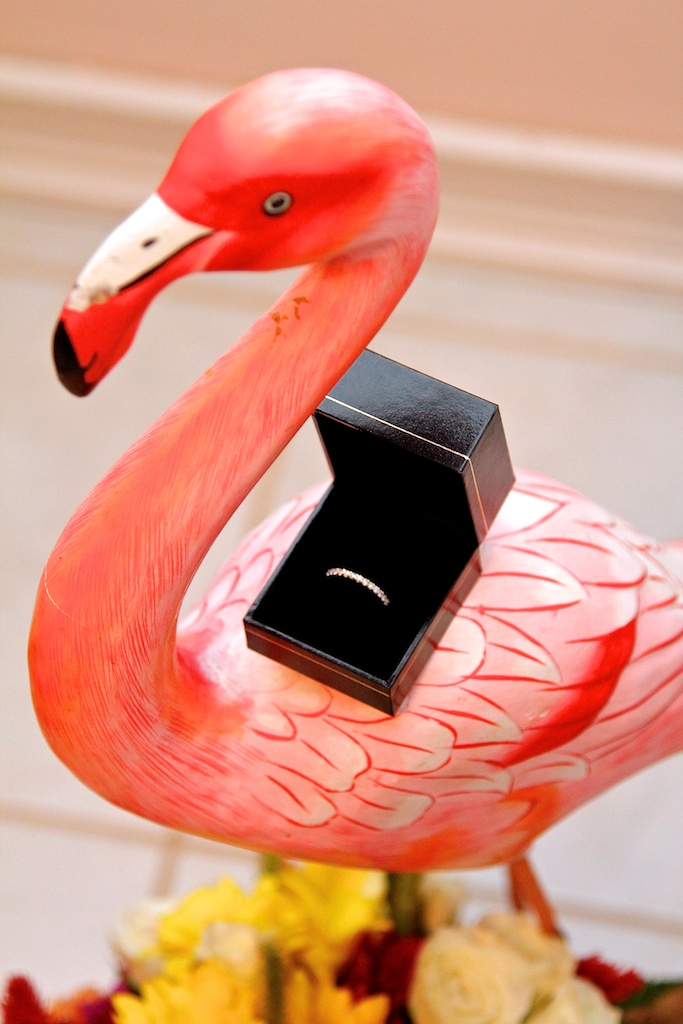 Wedding Ring flamingo