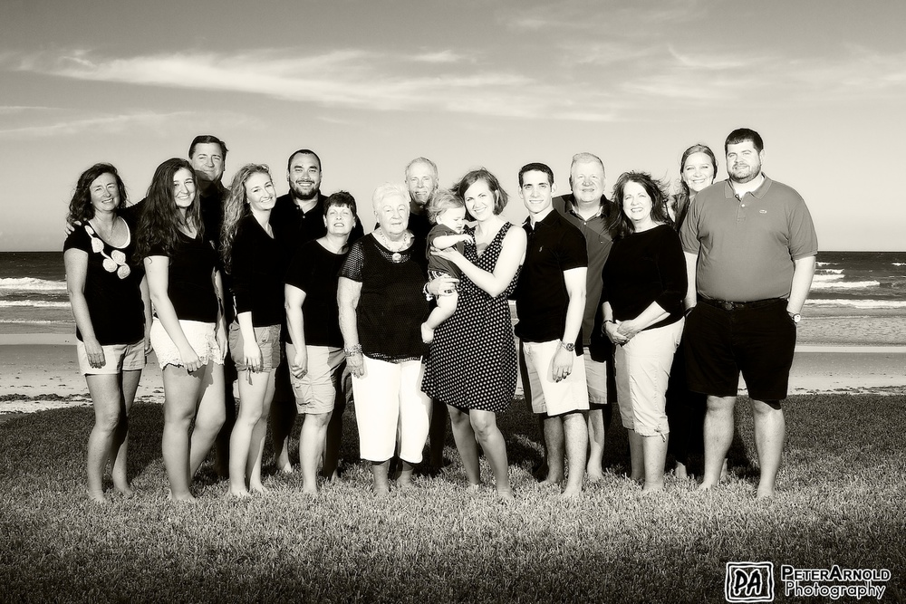 New Smyrna Beach Family Portrait Photography
