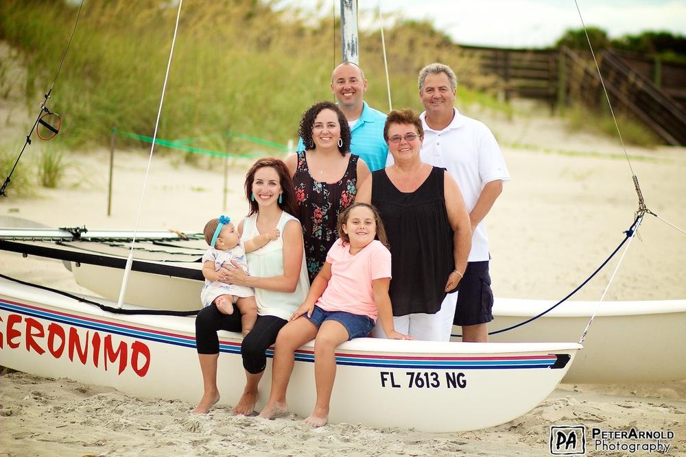 Family Portrait Photography in New Smyrna Beach, FL