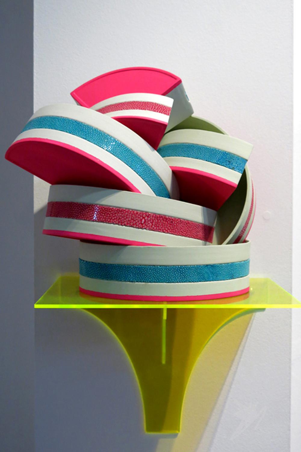 Elise Menghini, Ceramic and Shagreen bowls.jpg