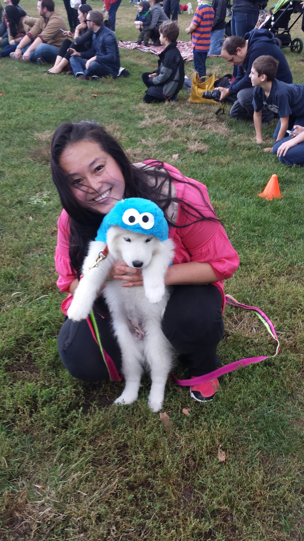 Cookie Monster (Justice) took fifth place and won a $25 gift certificate for  Rescue Chocolate .