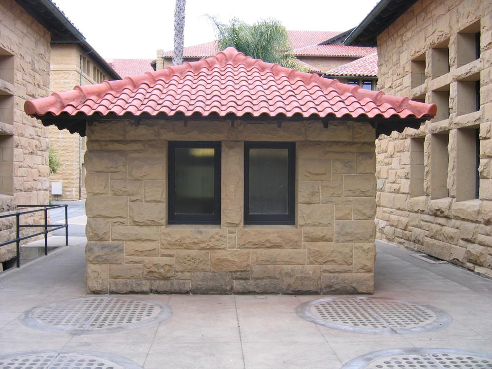Entrance before restoration