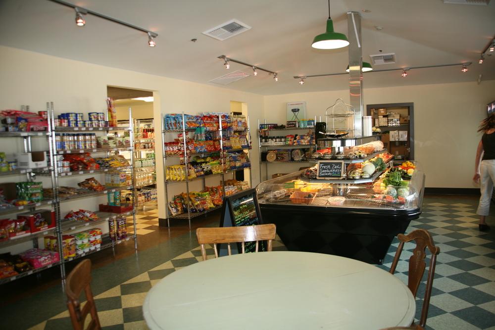 Produce area