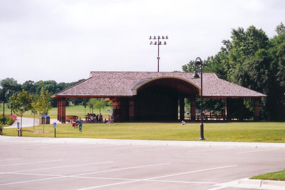 Front of Pavilion
